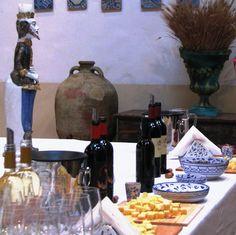 Wine tasting Italian style, Sicily.