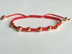 Details about Unisex Fashion Charming Lucky Red String Braided Adjustable Shamballa Bracelet Simple Bracelets, Braided Bracelets, Handmade Bracelets, Handmade Jewelry, Diamond Bracelets, Bold Jewelry, Jewelry Gifts, Pink Earrings, Beaded Earrings