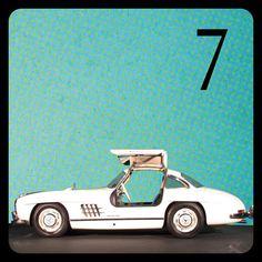 Automobiles Mercedes-Benz Advent Calendar 2012: 300 SL Coupé, 1955 - http://lesvoitures.fr/mercedes-benz-advent-calendar-2012-300-sl-coupe-1955/