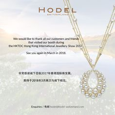 Thank you for your visiting us Hodel Switzerland during @hktdclifestyle Hong Kong International Jewellery Show! See you next year!  www.hodel-switzerland.com  #HodelSwitzerland #HODEL #Switzerland #swiss#jewellery #pearljewellery #luxury #highend#InfinityCollection #Infinity #AkoyaPearl #Akoya#southseapearl #pearl #southsea #Tahiti#TahitianPearl #whitepearl #blackpearl#JapanesePearl #pendant #necklace #chain#elegant #classic #symmetry #lustre #sharp #bright#round #drop #pearshape