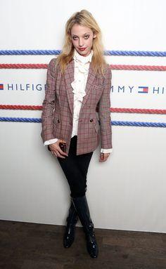 Cory Kennedy Tommy Hilfiger Women's - Backstage - Spring 2013 Mercedes-Benz Fashion Week