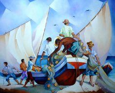 Os Pescadores ³-Damiao Martins-Brazil