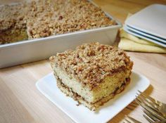 Sour Cream Coffee Cake - 2