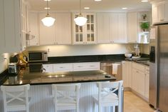 WOW look at the before shots of this kitchen/dining reno!