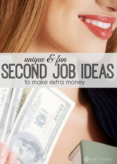 Have you ever tried coming up with second job ideas to make extra money? Everyone struggles financially from time to time and sometimes the solution is to take on a second job. You can budget your money, scrimp and save but sometimes it is just not enough. Take a look at this unique list of second job ideas.