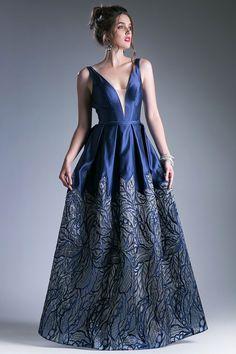 7538d668e5a Prom Dress w  Embellished Skirt