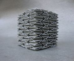 Seriously want to make one of these! (Andrea Russo: paper tesselation)