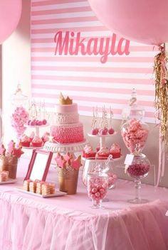 Pretty In Pink Birthday Party #prettyinpink #birthday #party #decorations #pink