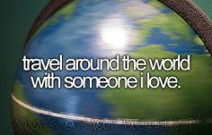 travel around the world with my love
