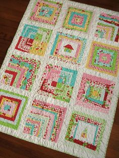 the Oh-Wonky-Bloody-Cherries! quilt