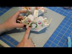 Easy Paper Easter Basket - YouTube