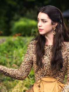 Adelaide Kane as Mary Stuart, Queen of Scots inReign (TV Series, 2013).