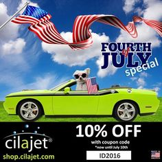 "Team cilajet is excited to announce that we are running a promotion from now until July 10th for 10% off your Care Line order! Get your vehicle's ""summer beach body"" ready to be shown off and purchase a Care Kit today! Visit our website to purchase any of our items with a 10% off coupon code of ID2016 at shop.cilajet.com!"