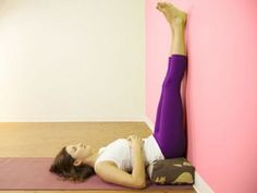 Try it and see for yourself the restorative power of a 10 minute legs up on wall pose! BENEFITS Legs up the Wall Pose is a. Hernia Umbilical, Hernia Exercises, Leg Exercises, Belly Button Hernia, Diastasis Recti Repair, Abdominal Hernia, Movement Fitness, Legs Up The Wall, How To Cure Depression
