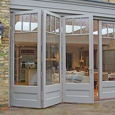 Garden doors by city & country Bespoke roof lanterns Standard size .Garden doors by city & country Bespoke roof lanterns Standard size roof lanterns - furnishing and livingBrilliant French doors with side windows to open The Doors, Windows And Doors, Entry Doors, Porch Doors, Roof Lantern, Garden Doors, House Extensions, French Country Style, Modern Country