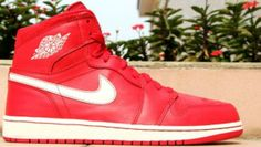 Authentic Air Jordan Retro 1 Gym Red  For Sale Online Free Shipping http://www.theblueretro.com/