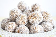 Apricot and coconut bliss ball recipe