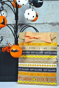 Halloween Treat Bag *SRM Press* : Gallery : A Cherry On Top