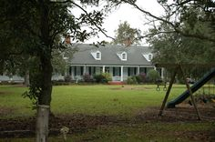Calumet Plantation House in St. Mary Parish, Louisiana.