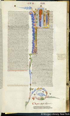Bible, MS M.436 fol. 123r - Images from Medieval and Renaissance Manuscripts - The Morgan Library & Museum