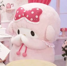 Baby Pink Aesthetic, Aesthetic Themes, Character Aesthetic, Sanrio Characters, Cute Characters, Anime Fairy, Cute Chibi, Cute Icons, My Melody