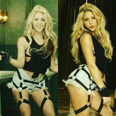 #shakira #shewolf #laloba #saleelsol #blue #blonde #gorgeous #stunning #perfectbody #hair #hairstyle #perfect #heels #fancy #sexy #goddess #perfect #chantaje #maluma #videoclip #single @shakira