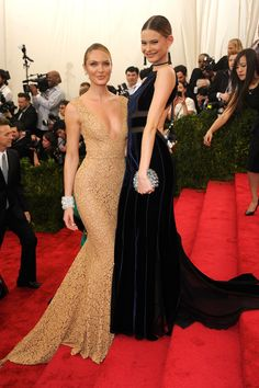 Eastern Promises - Candice Swanepoel and Behati Prinsloo-Wmag