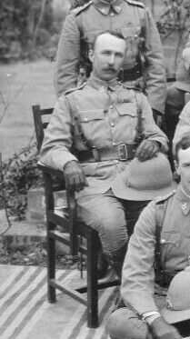 Major HB Rattray, 45th Rattray's Sikhs 1908. RATTRAY, HALDANE BURNEY., was born 27 May, 1870, son of the late ColoneI Thomas Rattray, C.B.  He entered the Derbyshire Regt. a  Second Lieutenant 29 March, 1 90; became Lieutenant, Indian staff Corp ,1 March, 1 92. He served on the North-West Frontier  of India, 1979 ,taking part in the defence of Chakdara (Severely wounded);  Malakand; action at Landakai; operations in Bajaur. He was mentioned in Despatches (London Gazette, 5 Nov. 1897J, was…