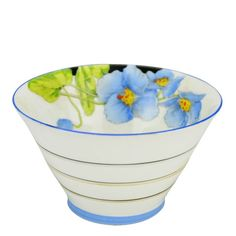 Sugar Bowl Blue Iceland Poppy by Paragon Vintage English Art Deco Vintage Dishes, Vintage China, Unique Vintage, Vintage Items, Antique Decor, Vintage Home Decor, Arts And Crafts Movement, China Patterns, Art Deco Fashion