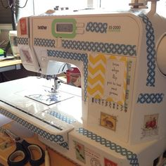 @Jen Carlton-Bailly My view of the fierce decorating job Liam did on my machine :) | Flickr - Photo Sharing!