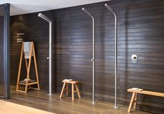 Stainless steel taps by Cristina Rubinetterie