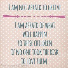 Adoption Quotes shared every Wednesday on Tamara's Instagram. Follow Tamara @ http://instagram.com/adoptionmamablog