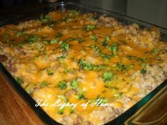 Brown Rice Casserole from $5 Dinners