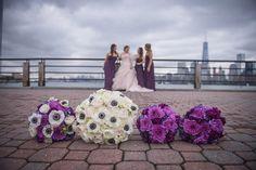 JM Floral arrangements; A Classic Wedding at Liberty House, Jersey City