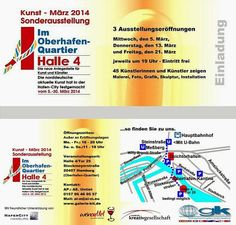 Rene Scheer: Ausstellung im Oberhafen (Hamburg) im März - von 45 Künstlern in drei Ausstellungen