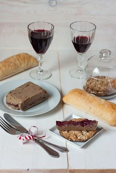 Turkey liver pate with figue and blackcurrant confiture