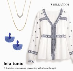 Stella & Dot tops now available, Fall 2017 at my website www.stelladot.com/ohsocharmed