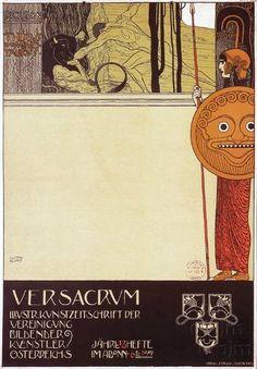 Kunstausstellung Secession Wien | Klimt, Gustav, 1898