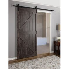 Found it at Wayfair - Continental MDF Engineered Wood 1 Panel Interior Barn Door