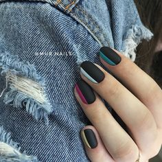 If You Love To Wear Black, Then These 66 Stunning Black Nail Ideas Are For You - Millions Grace #blacknails #blacknaildesigns #nailsdesigns #nailart #nails #nailartdesigns #nailcolors #naildesigns