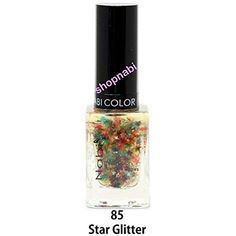 Nabi Nail Polish Star Glitter No.85 - 15ml Square Bottle *** You can get more details by clicking on the image. (This is an affiliate link) #NailPolishDecorationProducts