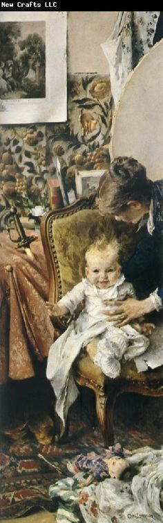 Carl Larsson Little Suzanne