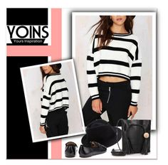 """""""YOINS"""" by janee-oss ❤ liked on Polyvore featuring мода и Eugenia Kim"""