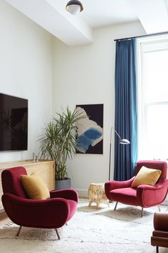 Interior Color Trends 2018 - Burgundy   Apartment Therapy