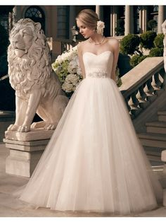 Casablanca Bridal Fall 2014 - Style- 2177