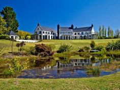 Coatesville Classic in Coatesville, New Zealand... Beautifully presented with antique pieces, this five bedroom weatherboard home oozes the charm of an elegant manor.