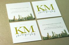9 best thick business cards images on pinterest square business square business card printed on extra thick paper for kathryn mccrary photographer colourmoves
