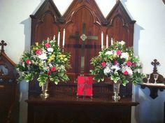 St Paul's chapel altar flowers by KVS.