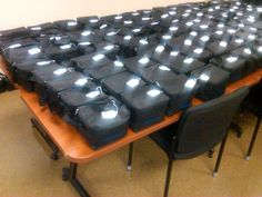 Goodie Bags for Greenville, South Carolina PD, great idea for goodie bags next year