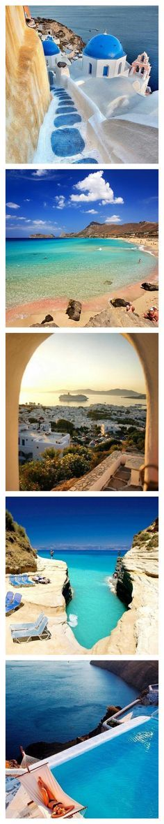 Travel : Top 10 Greek Islands you Should visit in Greece ......Greece brings to its visitors a variety of lovely islands that are rocky, green, or mountainous surrounded by crystal clear waters. With so many islands and beaches that offer serenity and many things to do, it is apparent that Greece has become the most travelled destination.....kur ♥